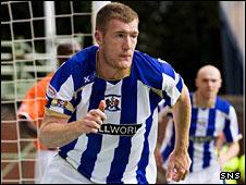 Kilmarnock striker Kevin Kyle