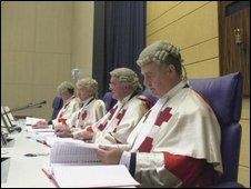 The Lockerbie Trial judges