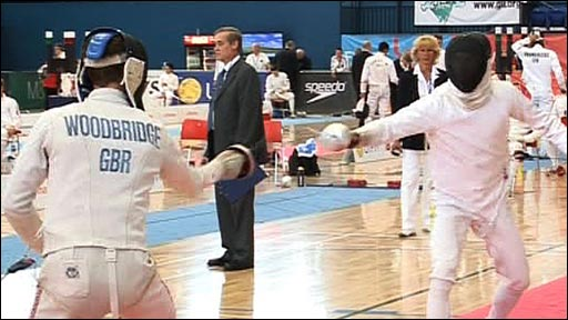 Fencing in the modern pentathlon
