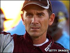 Somerset captain Justin Langer