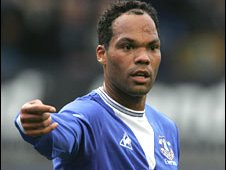 Everton's Joleon Lescott is wanted by Man City