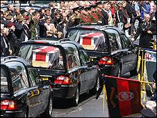 Coffins in Wootton Bassett