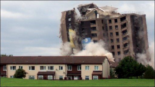 Demolition in Netherfields