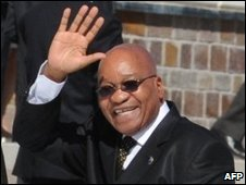 South Africa's Jacob Zuma