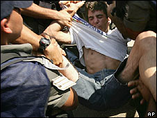 Evacuation of settlements in Gaza, 2005