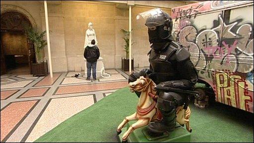 Banksy exhibition in Bristol