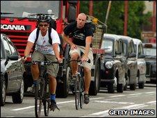 Cycling London