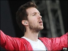 Calvin Harris at T In The Park