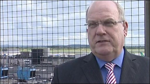 Geoff Muirhead, chief executive of Manchester airports group