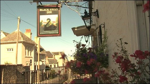 Black Swan pub, Swanage