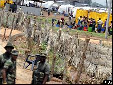 Manik Farm refugee camp (15 August 2009)