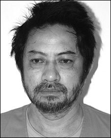 Criminal suspect Li Qiang from Chongqing, China