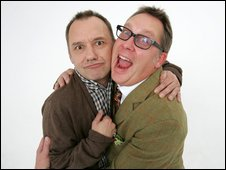 Bob Mortimer and Vic Reeves
