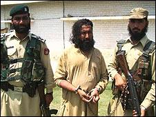 Maulvi Omar under arrest
