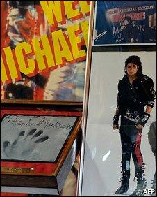 Michael Jackson memorabilia