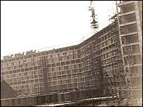 Construction of Park Hill flats, 1957-61