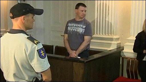Michael Campbell in court