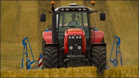 Harvesting. Photo courtesy of AGCO Ltd.