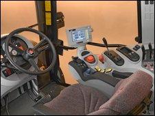 Tractor cab. Photo courtesy of AGCO Ltd.