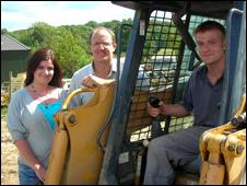 Lisa Gunn, Matthew Home and Matt