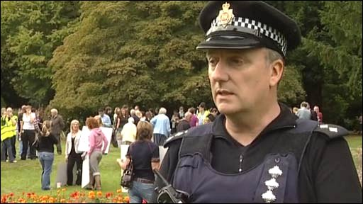 Ch Insp Peter Jones, Greater Manchester Police
