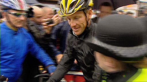 Lance Armstrong in Paisley