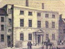 Blaydes House in the 18th century