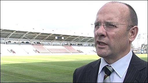 Harlequins chief executive Mark Evans