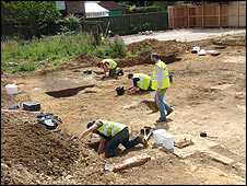 The excavations at Impington