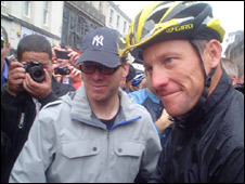 Lance Armstrong/Pic: Leigh McConnell