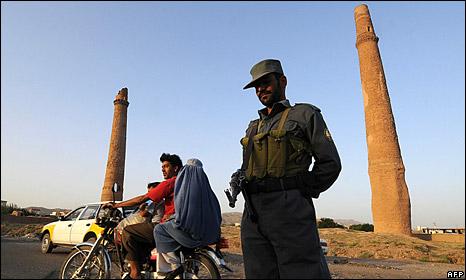 Policeman in Herat