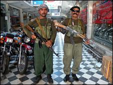 Ahmad Shah Faqiri's guards