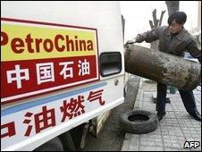 Petrochina worker