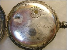 Captain Richard Pritchard's pocket watch