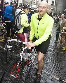 Scottish cycling legend Graeme Obree