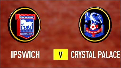 Ipswich v Crystal Palace