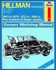 Hillman Imp Haynes Manual