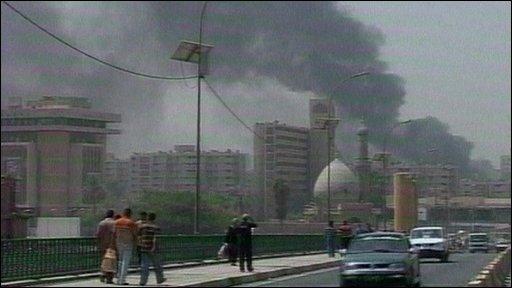 Iraq smoke