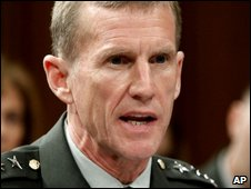 New commander of Nato forces in Afghanistan Gen Stanley McChrystal