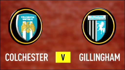 Colchester 2-1 Gillingham