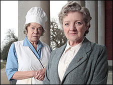 Wendy Richard and Julia McKenzie in Marple