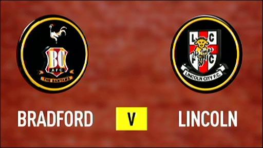 Bradford City v Lincoln City