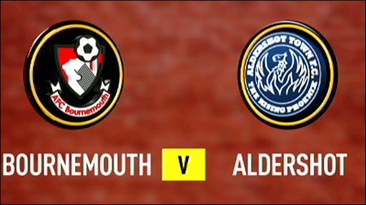 Bournemouth v Aldershot Town