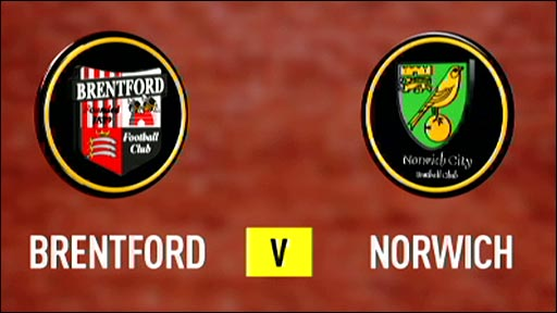 Brentford v Norwich City
