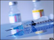 Hospital syringes
