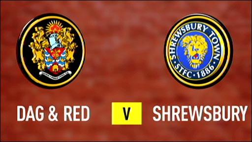 Dagenham & Redbridge v Shrewsbury Town