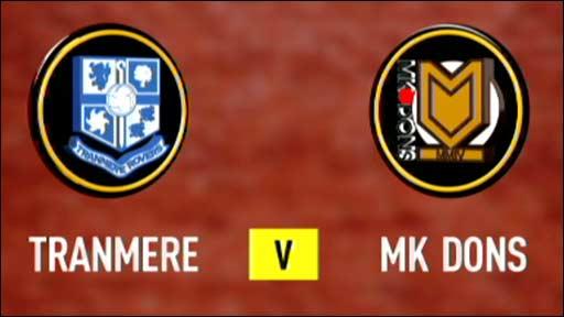 Tranmere v MK Dons