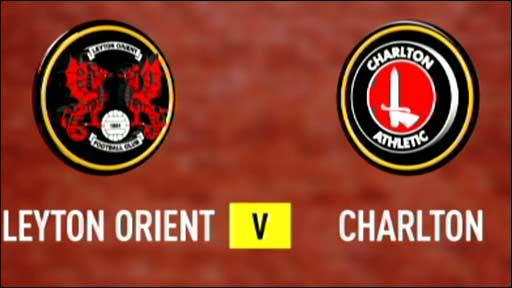 Leyton Orient v Charlton