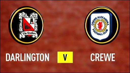 Darlington v Crewe Alexandra