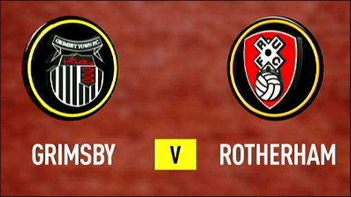 Grimsby Town v Rotherham United